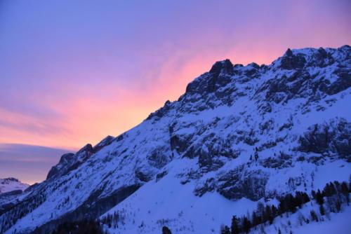 Tramonto Val di Fassa